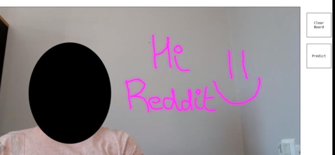 网红模型作者是调包侠?Reddit 小哥发布手势绘画模型,获超2300个赞