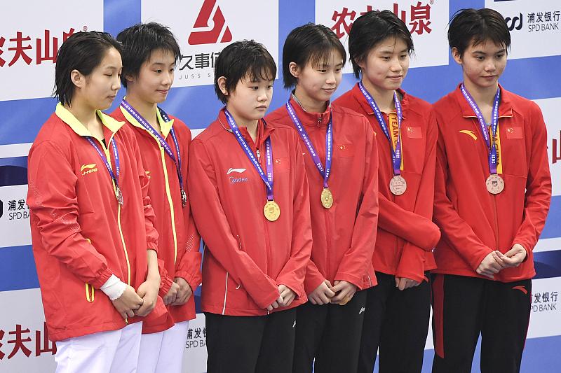 全红婵轻松备战全运会!再现水花消失术,八大世界冠军同场竞技