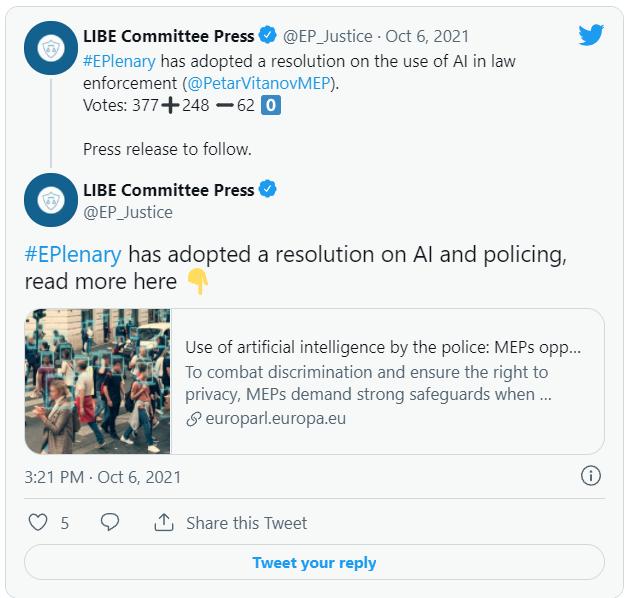 公共场所人脸识别或全面被禁!刚刚,欧洲议会决议,AI监管再收紧